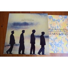 ECHO & THE BUNNYMEN - SONGS TO LEARN & SING LP - EXC+ A2/B2  INDIE